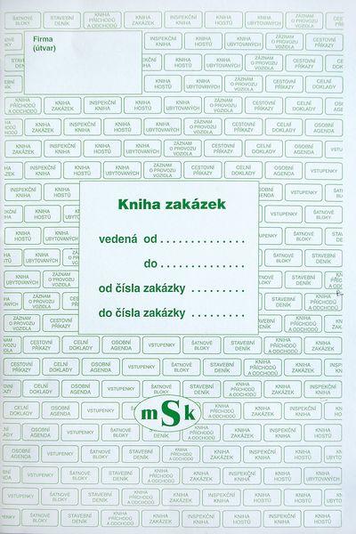 Kniha zakázek