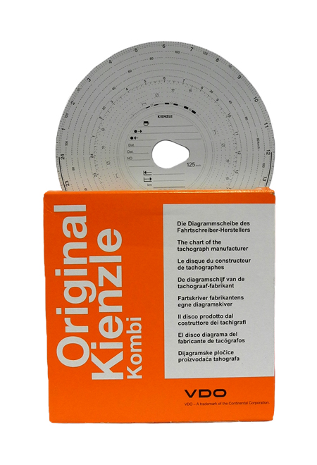 Kotoučky Kienzle 125-24EC4-KA mechanické