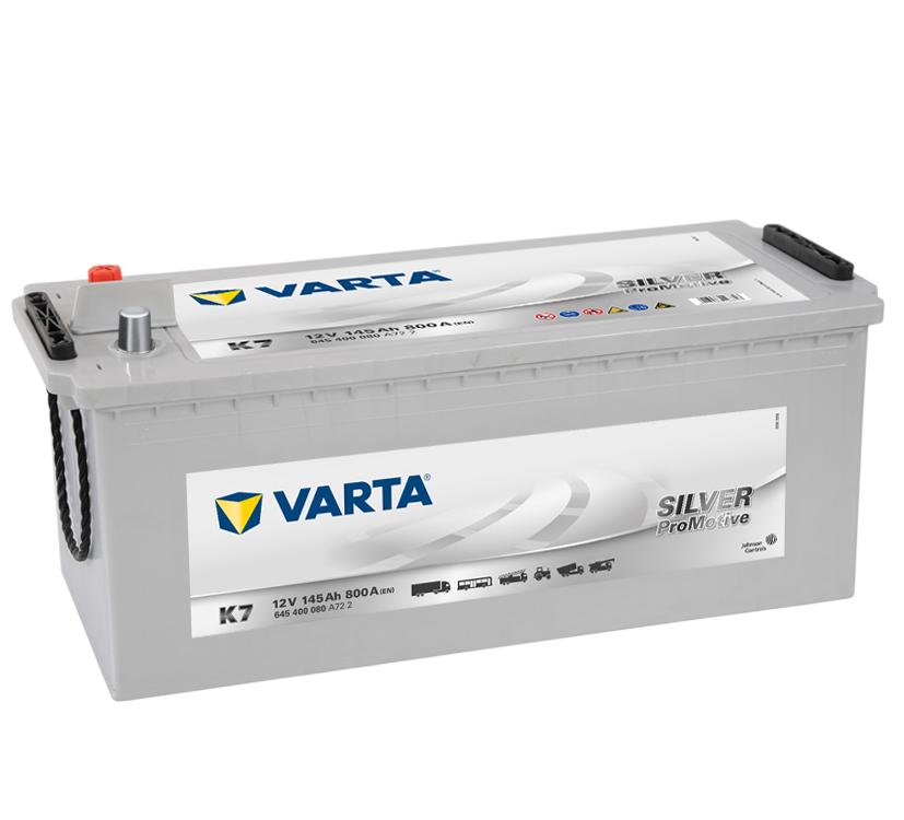 Autobaterie Varta Silver Promotive 12V,145 Ah, K7, 645 400 080