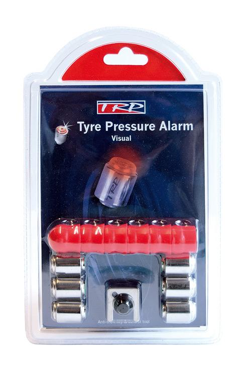 Kontrola tlaku v pneu