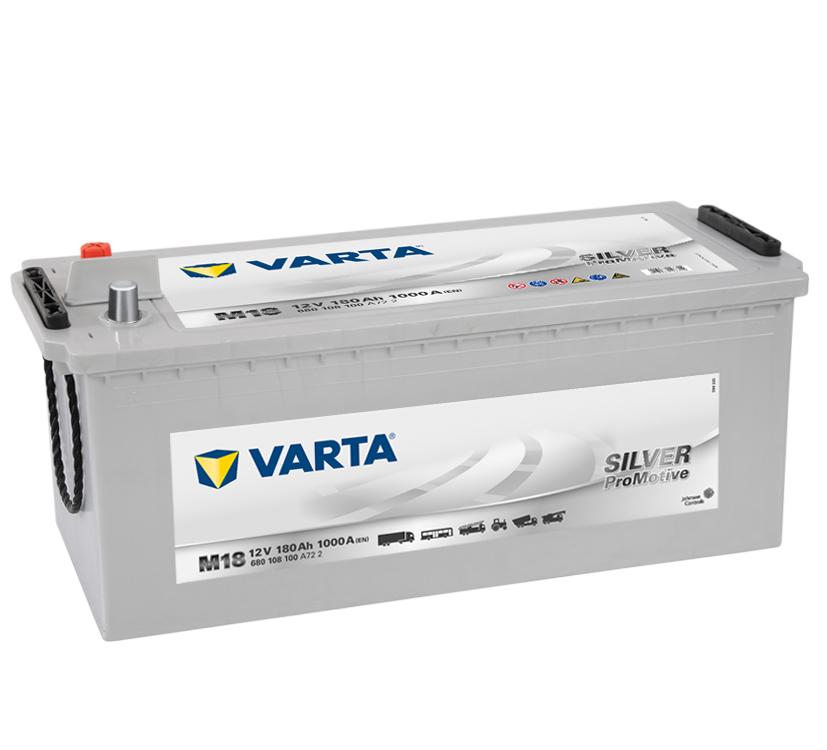 Autobaterie Varta Silver Promotive 12V,180 Ah, M12, 680 108 100
