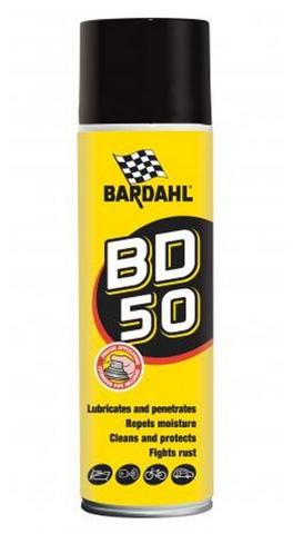 Bardahl BD 50 - Universální mazací sprej
