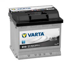 Autobaterie VARTA Black 12V, 45 Ah B19