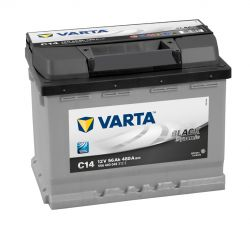 Autobaterie VARTA Black 12V, 56 Ah, C14