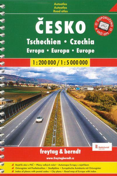 Atlas ČR+ Evropa 1:200tis