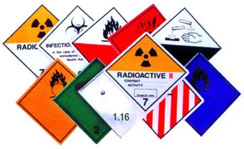 Bezpečnostní značka pevná 250 x 250 mm