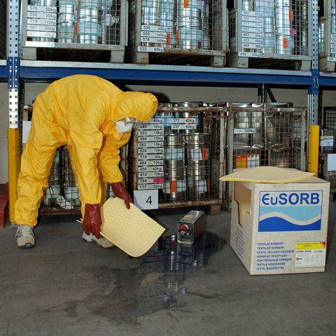 Chemické rohože zpevněné perforované