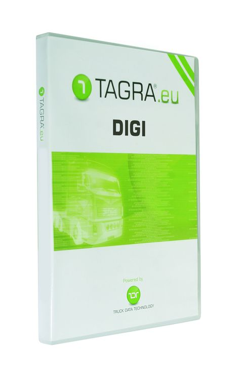 Tagra Digi se čtečkou karet řidičů