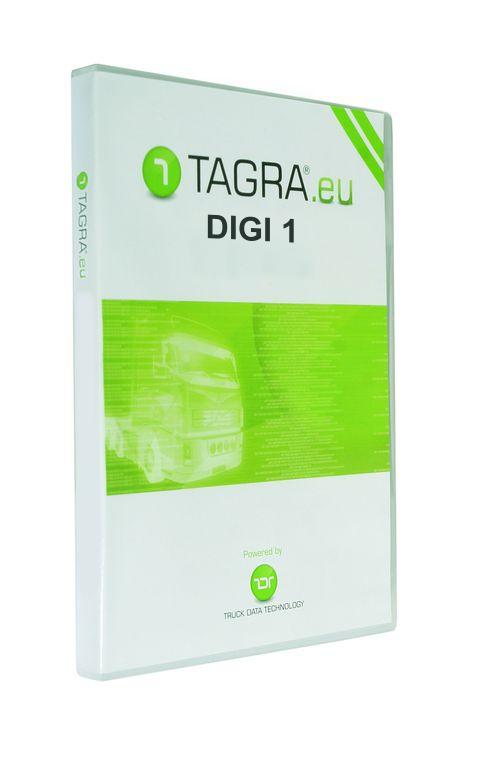 Tagra Digi 1 se čtečkou karet řidičů