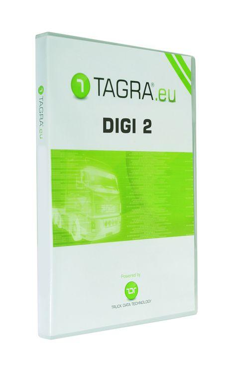 Tagra DIGI 2 se čtečkou karet řidičů
