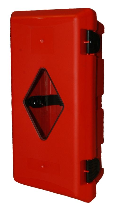 Plastový kryt na 6kg hasicí přístroj (červený)