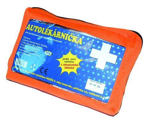Autolékárnička Demel, textilní, 283/2009
