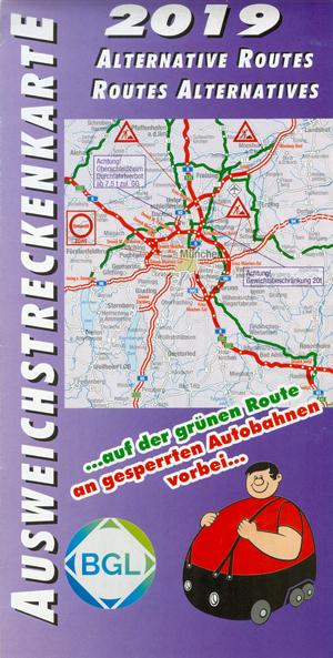 Zákazy jízd a průjezdné trasy pro rok 2019 v Německu