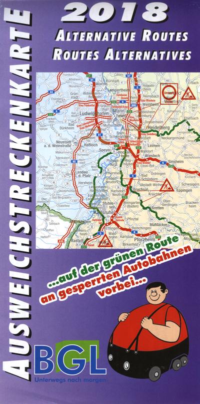 Zákazy jízd a průjezdné letní trasy pro rok 2018 v Německu