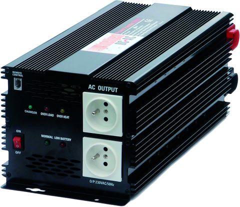 SP3000 12V měnič napětí z 12 V DC na 230 AC