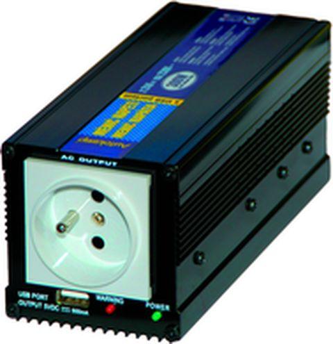 SP300 12V USB měnič napětí z 12 V DC na 230 V AC