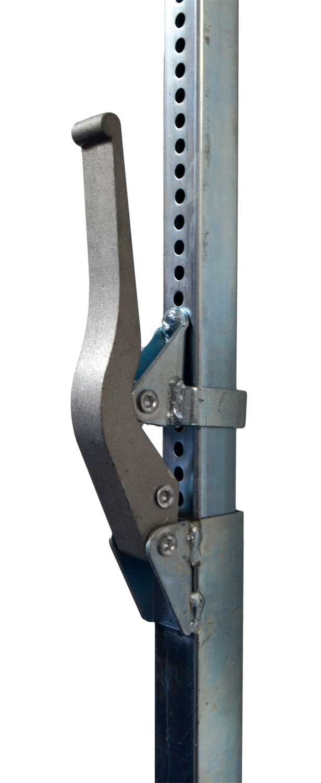 Rozpěrná ocelová čtvercová tyč 1880 - 2900