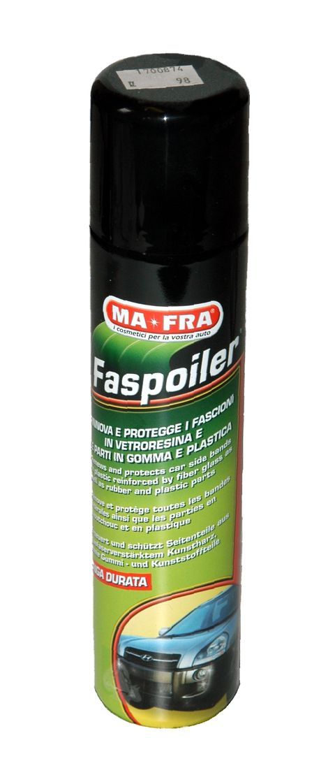 Ochranná leštěnka na vnější plasty - sprej 300 ml