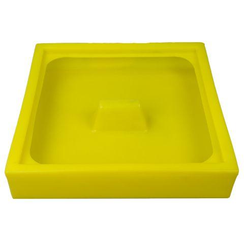 Úkapová vana pro jeden 60 l sud, žlutá a černá
