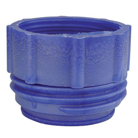 Plastový adaptér MAUSER, modrý