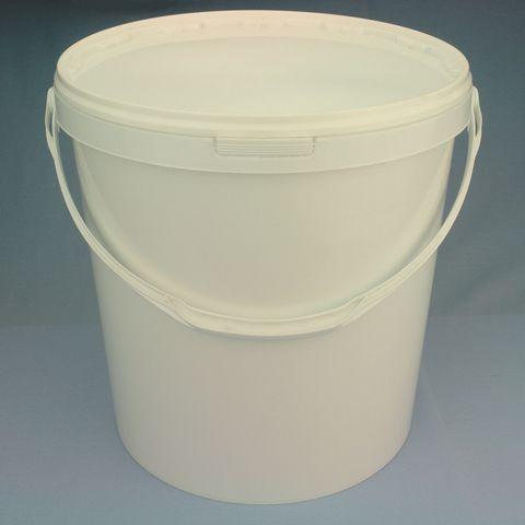 Plastové vědro 10 l, bílé