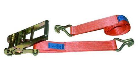 Upínací pás 10 m/10 t, 75mm široký pás s háky