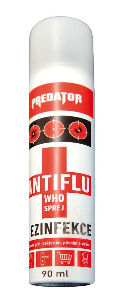 Dezinfekce rukou Predator ve spreji, 90ml