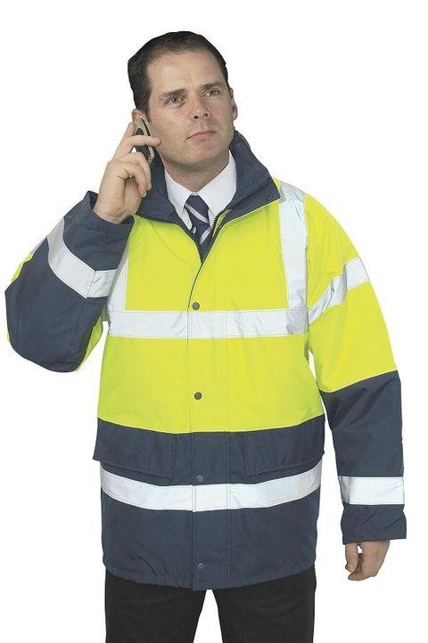 Reflexní kabát Contrast Traffic