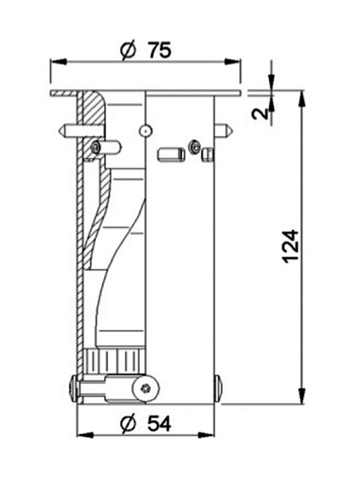 Ochrana nádrže s plovákem Renault Lamberet
