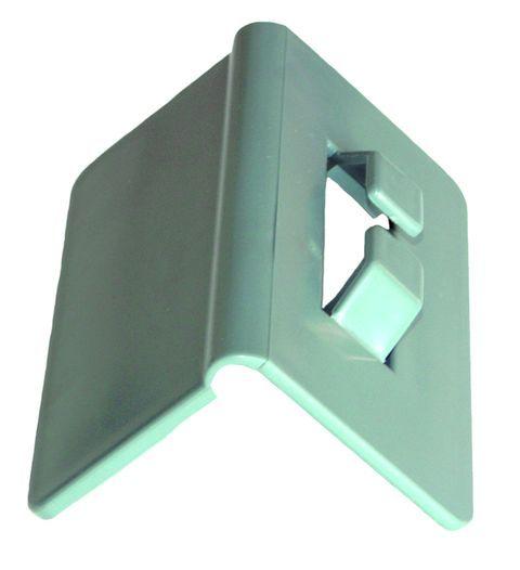 Šedý ochranný roh 150 x 80 mm