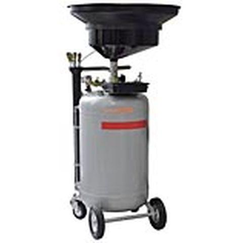 Mobilní sběrná a odsávací nádoba použitého oleje