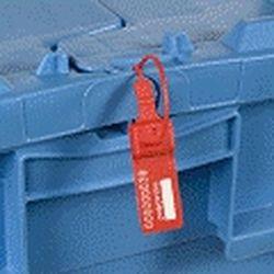 Bezpečnostní plomba plastová s kulatým páskem