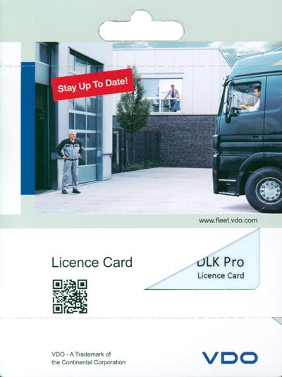 Licenční karta VDO Smart DTCO