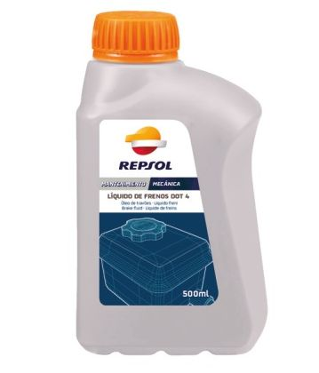 Brake Fluid Dot 4 - Repsol