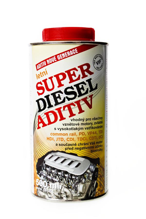 Aditivum VIF Super diesel - letní, 500ml