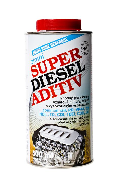 Aditivum VIF Super diesel - zimní, 500ml