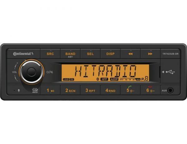 Radio Continental, 24V (RDS), Bluetooth, 7423UB-OR
