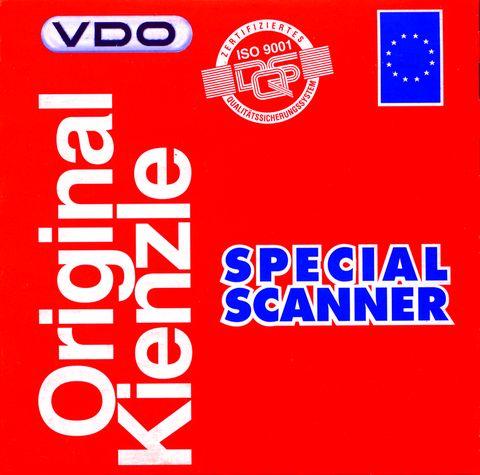 Kotoučky Kienzle 125-24 EC4-B do 125 km pro elektronické