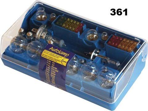 krabička AUTOLAMP DUO univerzální H1+H7 24V