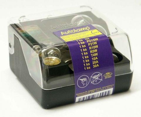 krabička AUTOLAMP univerzální H4 24V