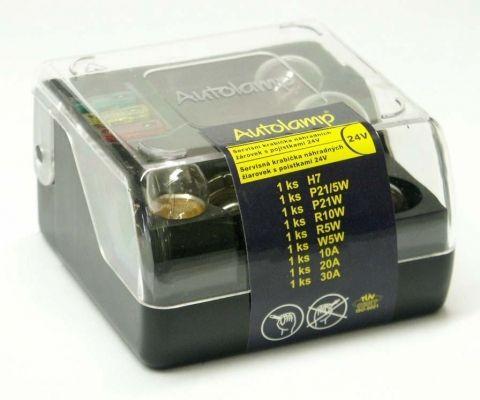 krabička AUTOLAMP univerzální H7 24V