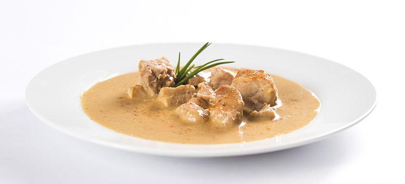 Ster.jídlo kuře na paprice 2porce