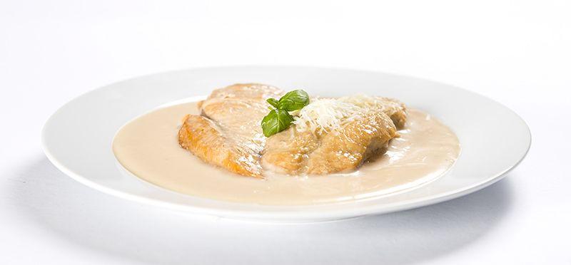 Ster.jídlo kuře se sýrovou omáčkou 2 porce