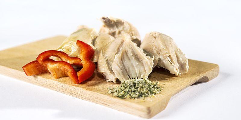 Ster.jídlo kuřecí prsní plátky