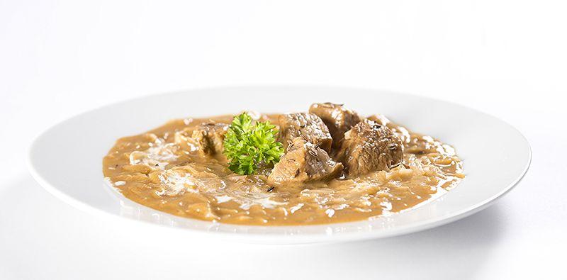 Ster.jídlo segedinský guláš 2 porce