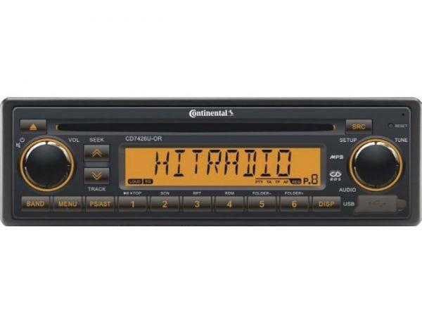 Radio Continental, 24V (RDS), CD/MP3, 7426U-OR